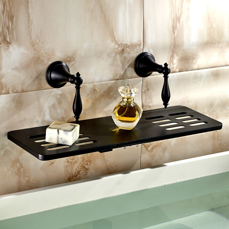 Waterfall Spout Wall Mounted Basin Faucet Two Handles Sink Mixer Tap Oil Rubbed Bronze new luxury oil rubbed bronze deck mounted waterfall basin faucet dual handles sink mixer tap