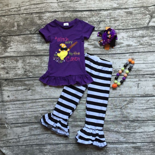 girls clothing halloween boutique outfits girls which way to the candy Halloween clothes baby girl fall clothes with accessories