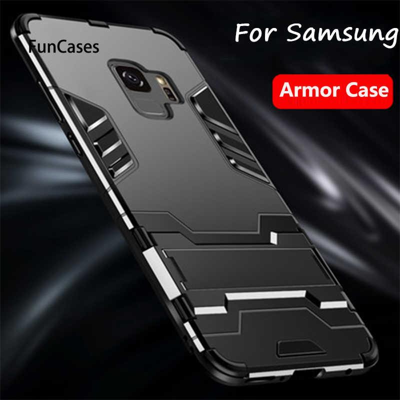 アンチノックケース三星銀河 A7 2018 S8 S9 プラス注 9 ケース電話カバー三星銀河 s10 Lite プラス A9 2018