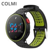 COLMI Smartwatch Pedômetro Freqüência Cardíaca Rastreador IP68 À Prova D' Água Ultra-longa Espera Tela Colorida Para IOS Android Telefone Do Relógio Inteligente