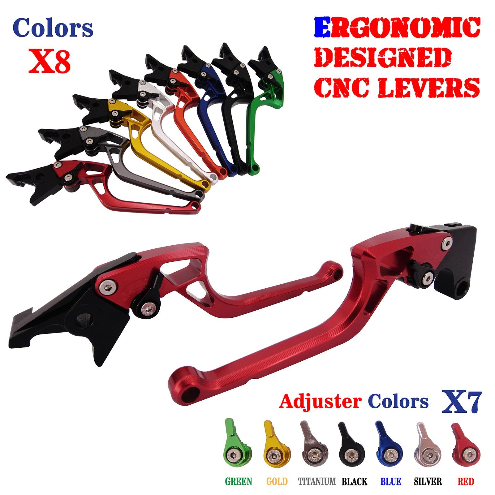 Unbreakable Ergonomic New CNC Adjustable Right-angled 170mm Brake Clutch Levers For Honda CBR250R CBR300R CBR500R CB500F/X billet new alu long folding adjustable brake clutch levers for honda cbr250r cbr 250 r 11 13 cbr300r 14 cbr500r cb500f x 13 14