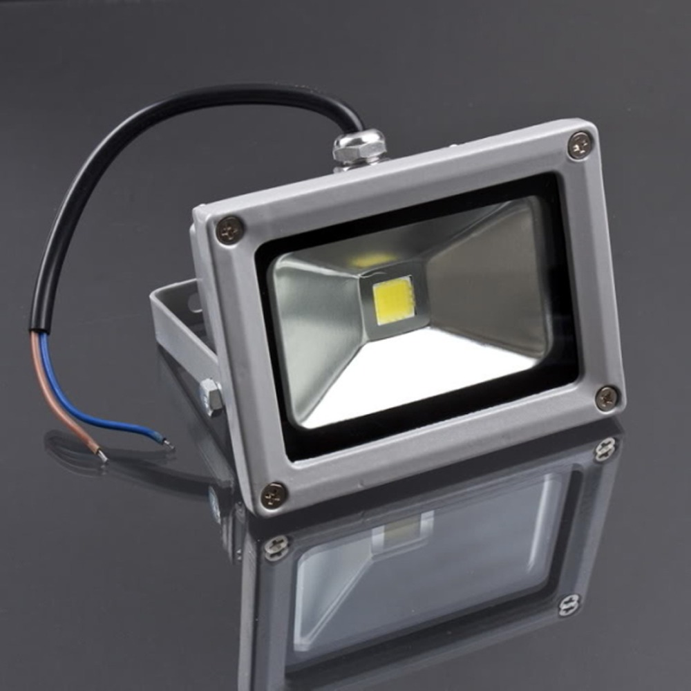 1 Pc Aluminum alloy Material 10W AC 85-265V LED Waterproof Flood Light Lamp Warm COOL White Floodlight Outdoor Brand New