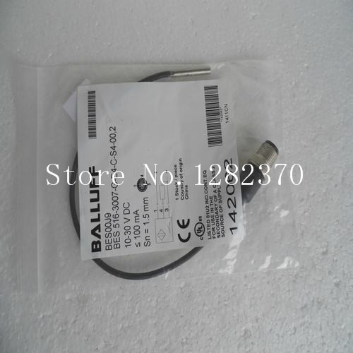 New original authentic BALLUFF sensor BES 516-3007-G-E4-C-S4-00,2 spot free shipping good quality balluff proximity switch bes 516 369 g sa9 pu 02 5