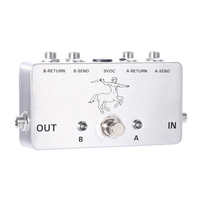 Good Enjoy Own Pedals Guitara AB Looper Effect Pedal Loop Switcher Box For Guitar Pedals Accessories