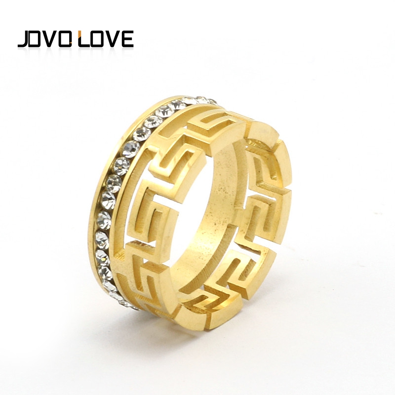 men store jewellery versace eu key rings accessories ring gold greekkeygoldring fashion greek en online for djms