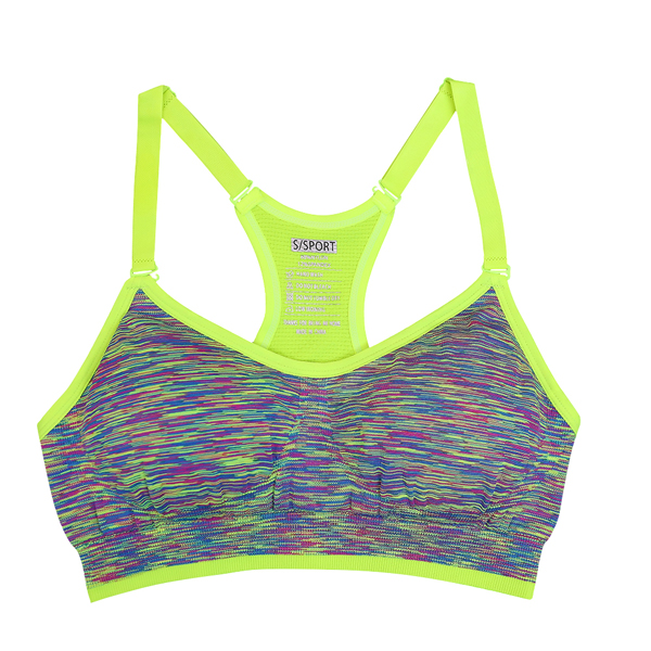 d63a595bf3bba ... Yoga Sports Bra For Running Gym Padded Wire free Shake proof Underwear  Push Up Seamless Fitness Top Bras. 26% Off. 🔍 Previous. Next