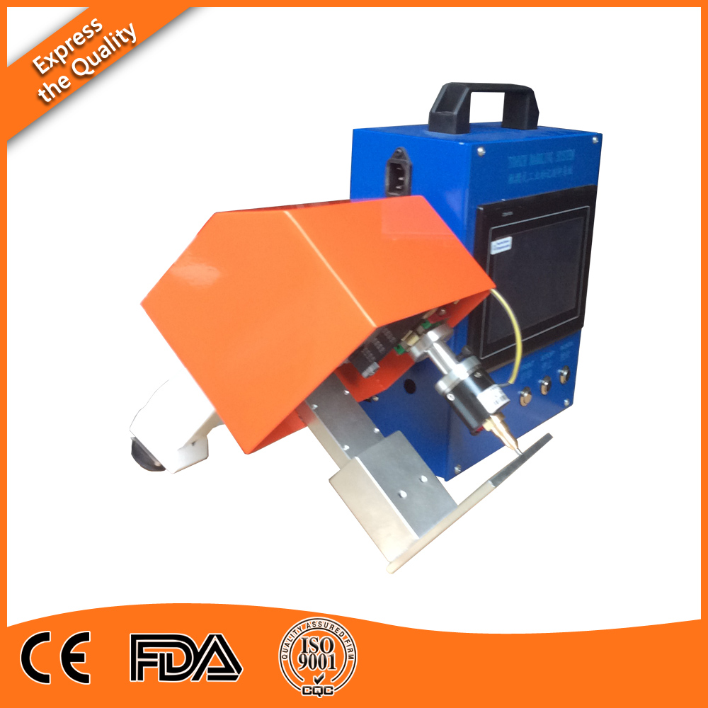 Hot-Sale Handheld Dot Peen Marking Machine On Alloy Parts  цены