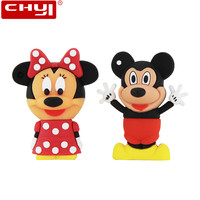 Mouse Mickey And Minnie USB Flash Drive Pen Drive Animal Cartoon Pendrive 4GB 8GB 16GB