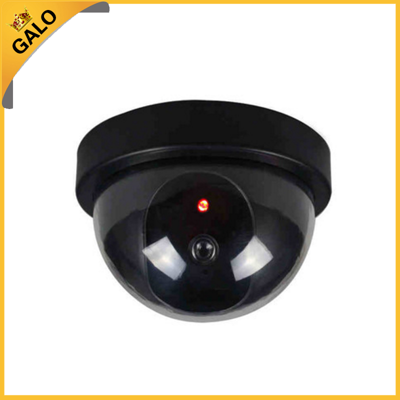 Galo Wireless Home Security Fake Camera Simulated video Surveillance indoor/outdoor Surveillance Dummy Ir Led Fake Dome camera fake dummy security camera cctv surveillance system with realistic simulated leds outdoor indoor for home cam warning sticker