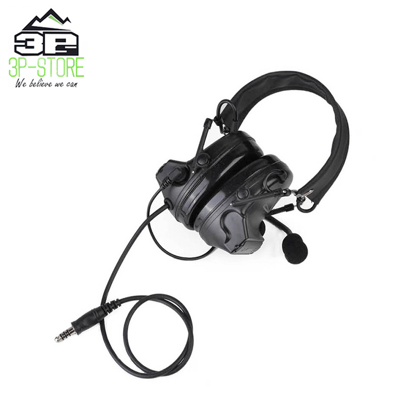 NEW z-tactical comtac ii headset radio anti noise headphones with black leather headhand for hunting WZ041NEW z-tactical comtac ii headset radio anti noise headphones with black leather headhand for hunting WZ041