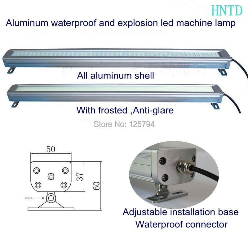ФОТО 41 380mm 10W 24V LED Metal explosion-proof lamp Sealed waterproof CNC  machine Lamp