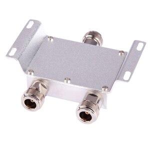 Image 4 - Gorąca rozdzielacz koncentryczny 1 do 2 sposób zasilania Splitter 380 2500 MHz wzmacniacz sygnału dzielnik N żeńskie 50ohm dla antena 4g