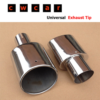 Automotive Carbon Exhaust Trim Tailpipe End Piece Stainless Steel ...