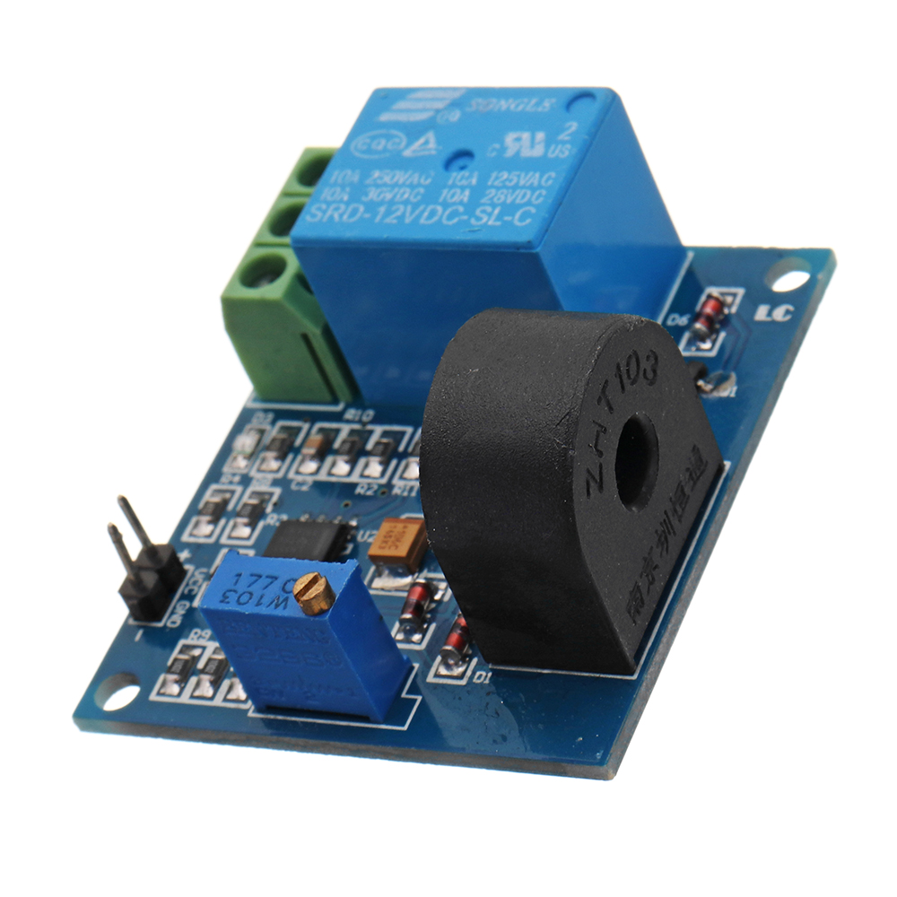 DC 12V 5A Overcurrent Protection Sensor Module AC Current Detection Relay Module Switch OutputDC 12V 5A Overcurrent Protection Sensor Module AC Current Detection Relay Module Switch Output