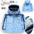 Bebé chaqueta de los muchachos niños prendas de Vestir Exteriores Topolino niños arrvial jaquetas infantis niños chaqueta para la primavera y el otoño dr0006-102