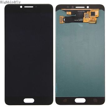 Amoled For Samsung Galaxy C7 2016 C7 C7000 C700 Lcd Screen Display+Touch Glass DIgitizer Assembly Repair Amoled