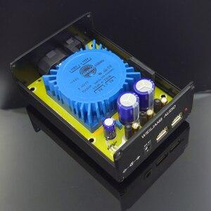 Image 4 - WEILIANG 오디오 15W 선형 조정 전원 공급 장치 출력 USB * 2 + DC 5V