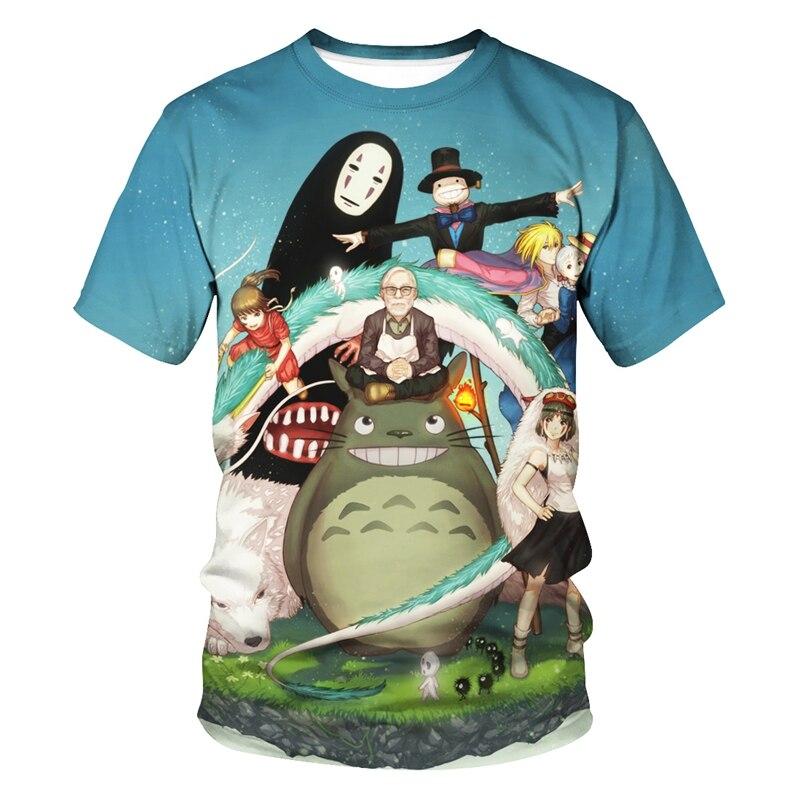 Studio Ghibli 3D TShirt