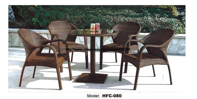 Rattan Balcony Furniture Set Small yard Rattan Garden furniture Set Best Design Outdoor Table Chair Leisure  sc 1 st  AliExpress.com & Rattan Balcony Furniture Set Small yard Rattan Garden furniture Set ...