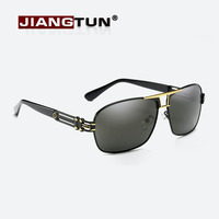 JIANGTUN Top Quality Brand Designer Cool Polarized Mens Sunglasses Protect Accessories Sun Glasses For Men With