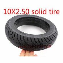 Высокое качество 10 x2.50 бескамерные колеса шины Твердые Подкачка колес шины для электроскутера для 8/10 дюймов электрические аксессуары для скутеров