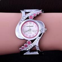 Women Bangle Wristwatch Crystal Luxury