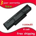Bateria do portátil Para E500 EB500 ED500 M740BAT-6 M660BAT-6-6 M660NBAT SQU-524 SQU-528 SQU-529 SQU-718 BTY-M66 BTY-M68