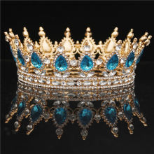 Crystal Vintage Royal Queen Crowns