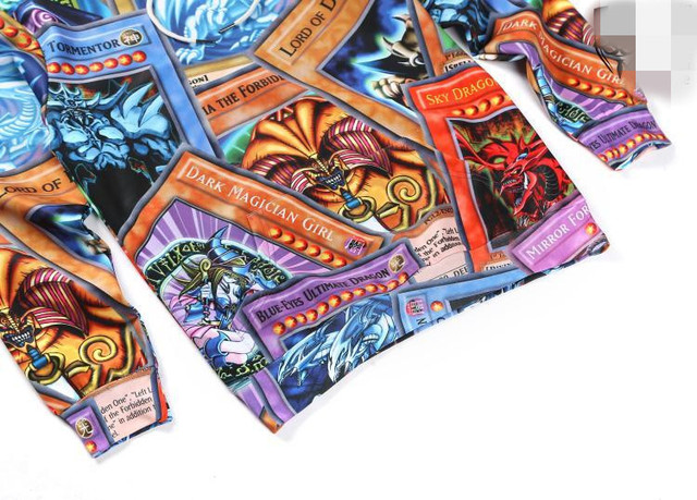 Аниме толстовка Yu-Gi-Oh 4