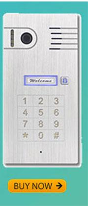 3G WIFI VIDEO DOOR PHONE Touchscreen Aluminum Alloy