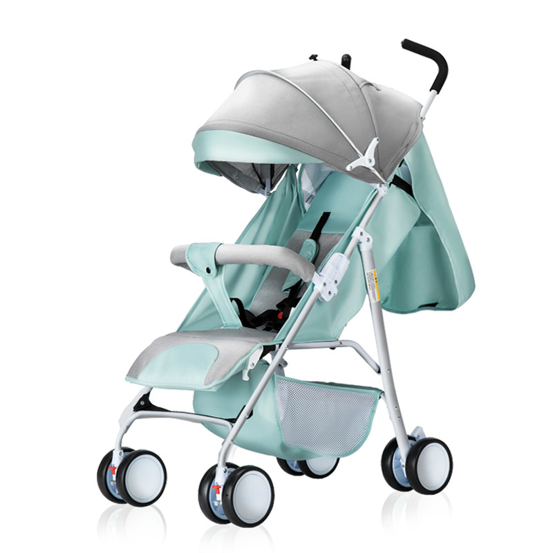 New Style high quality Newborns stroller can sit can lie ultra-light folding umbrella car light portable on the airplane 0-3T 2018 new style high quality newborns stroller light folding umbrella car can sit can lie ultra light portable on the airplane