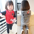 Anlencool childrens clothing boys and girls Sportswear Korean explosion models brand suits girls suits baby set free shipping