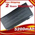 Аккумулятор для ноутбука Asus X51L X51R X51RL X58C X58L X58Le T12b T12C T12Er T12Fg А32-X51 Черный, бесплатная доставка