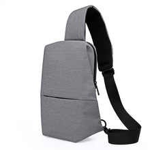 Chest bag Sling Bag Leisure Chest Pack Small Size Shoulder Type Unisex Rucksack Crossbody for man Bag 4L Polyester цена