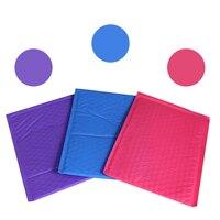50pcs Blue 6.5X9 Poly bubble Mailer envelopes padded Mailing Bag Self Sealing