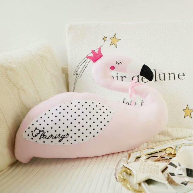 Travesseiro do bebê Cor Rosa Cisne ou