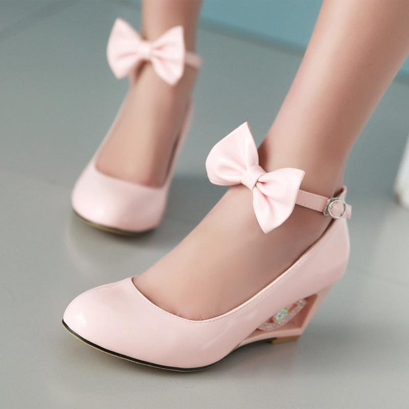 pink wedge shoes for wedding www pixshark images