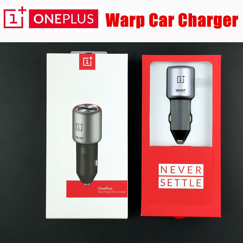 Original OnePlus Warp charge 30 car charger 7 pro dash charge One Plus 6t 6 5t