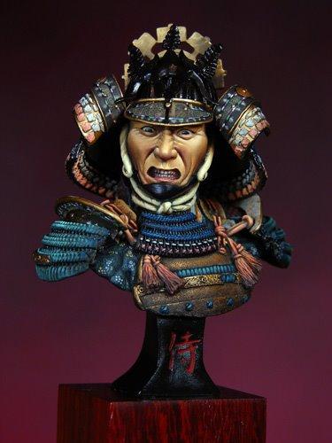 Бюст самураїв