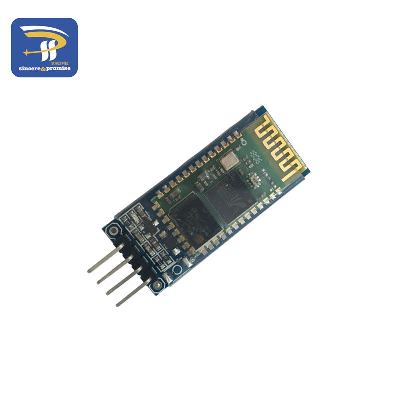 US $2 77 5% OFF|HC 06 Bluetooth serial pass through module wireless serial  communication from machine Wireless HC06 for arduino Bluetooth Module-in
