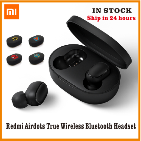 In Stock Xiaomi Redmi Airdots TWS Bluetooth Earphone Stereo Bass BT 5.0 Eeadphones With Mic Handsfree Earbuds AI Control Mi IPX4