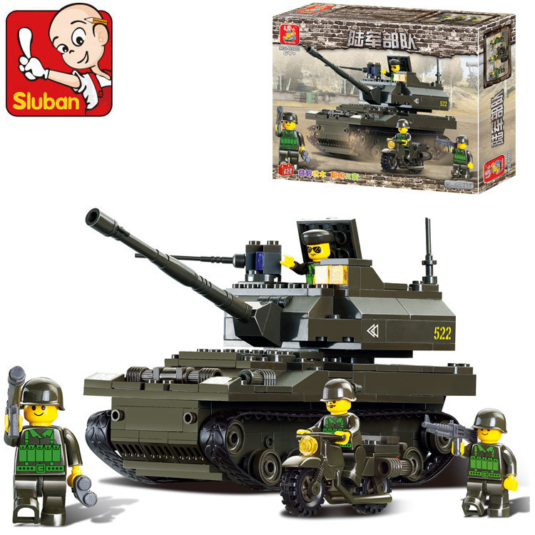 Model building kits compatible with lego city army tank 3D blocks Educational model building toys hobbies for children lepin 02012 city deepwater exploration vessel 60095 building blocks policeman toys children compatible with lego gift kid sets