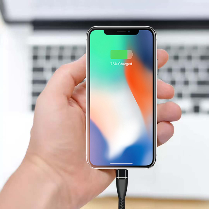 Suntaiho 2.4A Fast Charger USB Cable for lighting cable for iphone XS Max Sync Data Cable for iphone 6splus 7plus 8plus charger