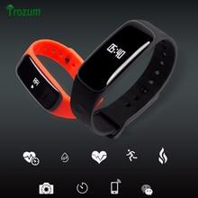 Новый С1 Smart Bluetooth Браслет Сердечного Ритма Артериального Давления Монитор Кислорода Здоровья Smartband Активность Tracker Шагомер Браслет