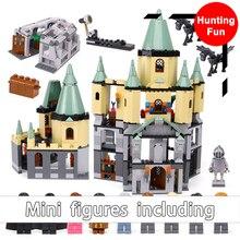 1033 Pcs 16029 Compatível 5378 Harry Potter Hogwarts Castelo 3D Mini Figuras Blocos de Construção do Modelo Kits de Brinquedos Para Crianças