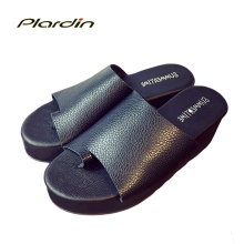 plardin 2016 Women Wedges Flip Flops Women's Sandals Summer Beach Top Brand Flip Flops Women Sweet Summer Shoes