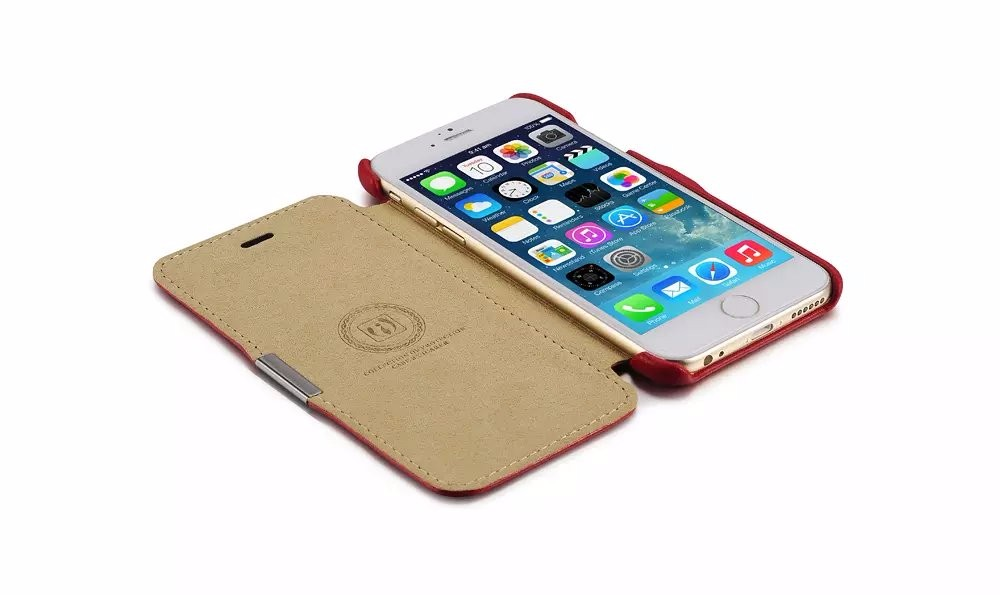 For iphone 6 6s plus flip case mobile phone leather case (13)