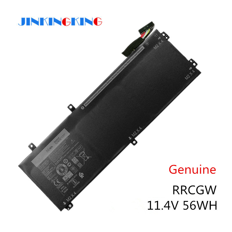 Original New RRCGW New Laptop Battery For Dell XPS 15 9550 Precision 5510 Series M7R96 62MJV 11.4V 56WH Free 2 Years Warranty image