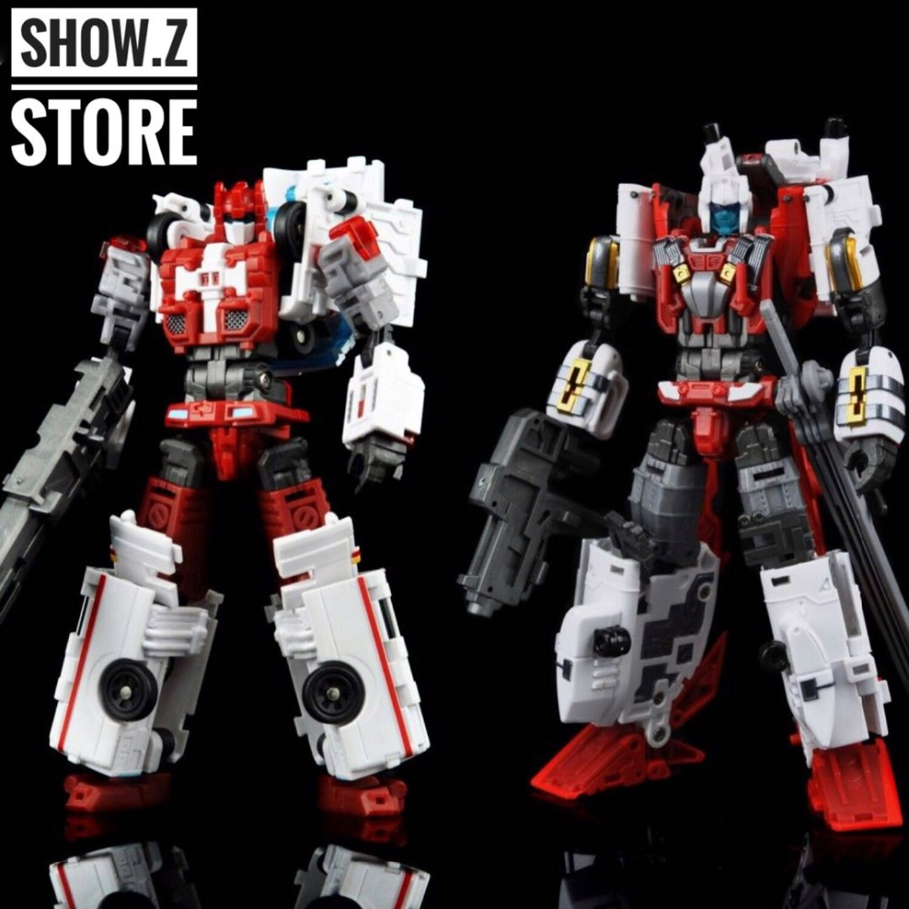 [Show.Z Store] Yes Model YM15 RF-05 Blades & YM16 RF-06 First Aid Defensor Set of 2 Transformation Action Figure цена