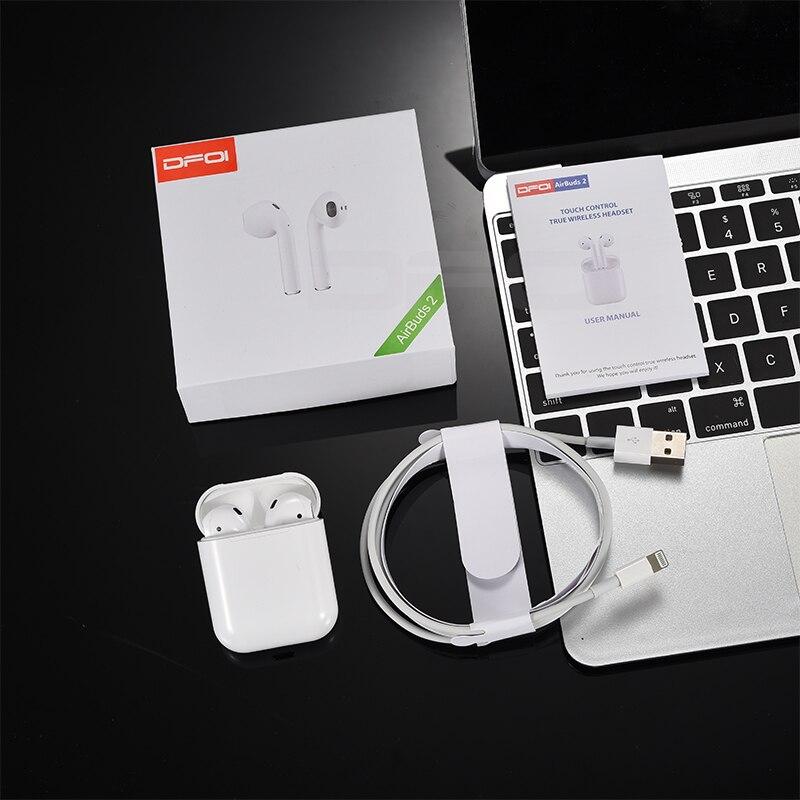 Big Sale] DFOI AirBuds 2 Wireless Earphone Bluetooth Headset